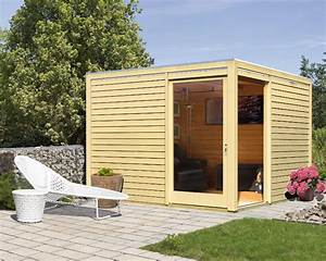 Abri En Bois : abri toit plat 10 24m en bois massif 28mm entr e cubus ~ Edinachiropracticcenter.com Idées de Décoration