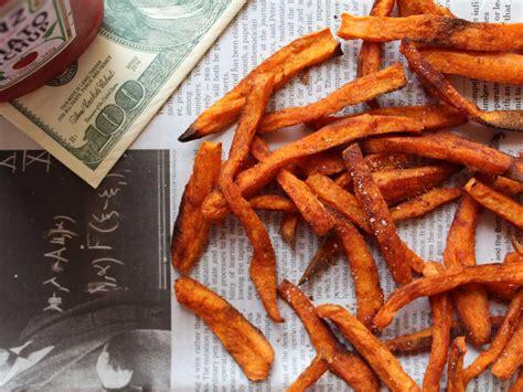 livre de cuisine gastronomique frites de patates douces au paprika facile et pas cher