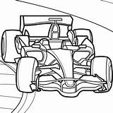 Coloring Race sketch template