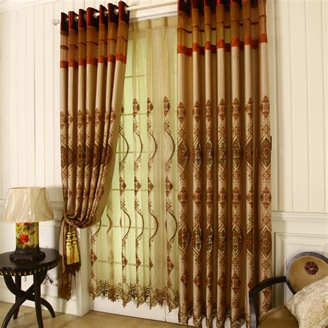 luxury living room curtains drapes are choices for you