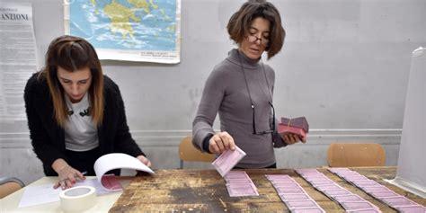 italie 57 de participation au r 233 f 233 rendum sur la r 233 forme constitutionnelle
