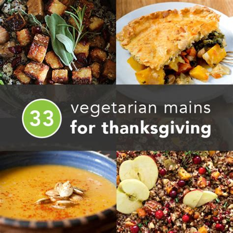 33 Vegetarian Thanksgiving Recipes Made With Real Food