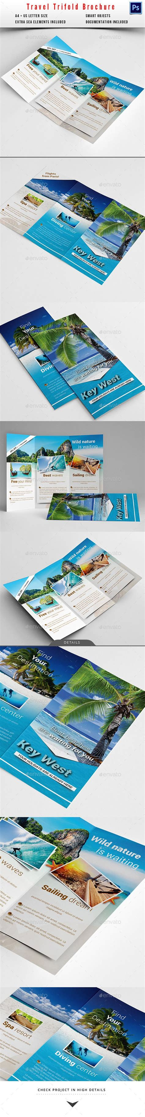 Trifold Template Album Ideas by 25 Best Ideas About Travel Brochure Template On Pinterest
