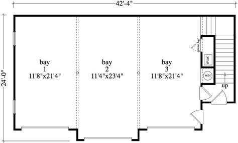 garage floor plan 1 bedroom 1 bath colonial house plan alp 09b5
