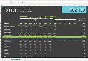 Profit Loss Statements With Excel Onsite Software