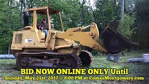 Online Auction ends 5/21/17: Caterpillar Crawler Loader ...