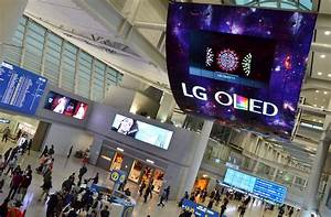 LG ELECTRONICS DEBUTS WORLD'S LARGEST OLED DISPLAY
