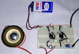 Ding Dong Sound Generator Door Bell Circuit Diagram Using