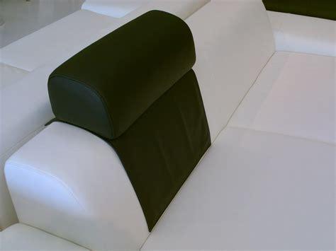 appui tete canapé têtière pose libre en cuir ou tissu appui tete