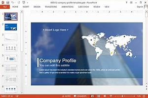 company profile template powerpoint download slidemodel With model company profile template