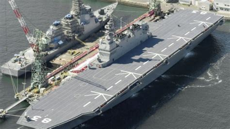 japan commissions helicopter carrier izumo
