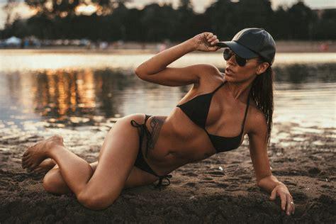 model frankie kennedy fun   sunset  lions magazine