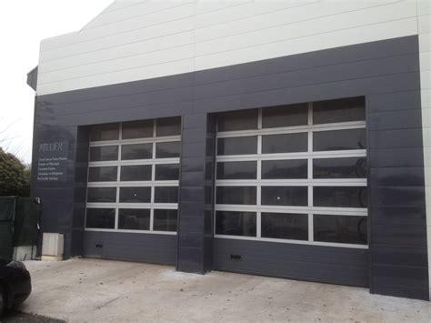 porte de garage roulante porte de garage vitree obasinc