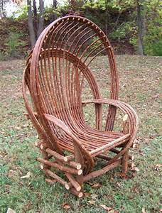 rustic outdoor furniture on Pinterest Twig Furniture