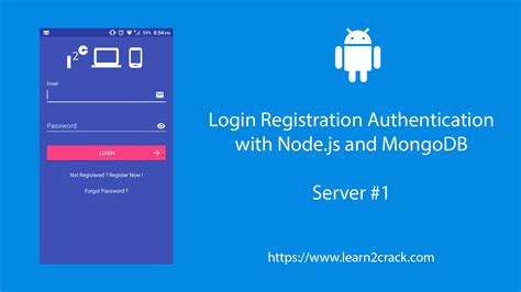 Android User Registration And Login With Node.js And