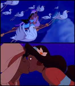 Aladdin Jasmine Kisses Jafar