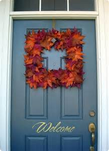 Fall Wreath Dollar Store
