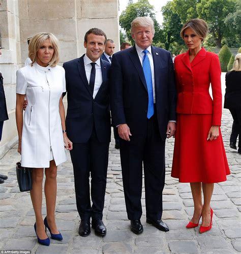 French First Lady Brigitte Macron shock claim that