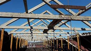 Beams from 1855 Massachusetts mill building salvaged for
