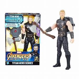 Avengers: Infinity War Titan Hero Power FX Thor 12-Inch