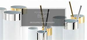 Accessoires Salle De Bain Design : accessoire salle de bain valente design ~ Melissatoandfro.com Idées de Décoration