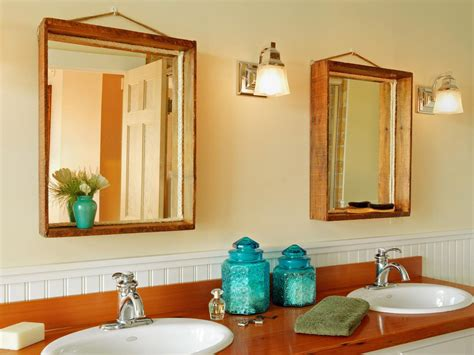 How To Turn A Wood Crate Into A Mirror Frame  Howtos Diy
