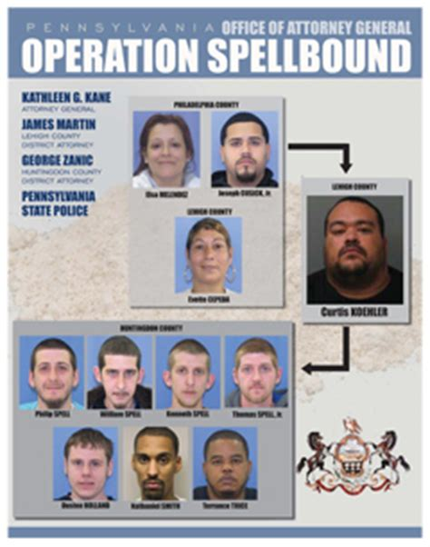 operation spellbound breaks   million heroin ring