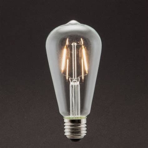 industville vintage style edison led 5w e27 dimmable light