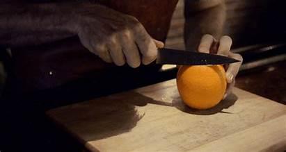 Cut Fruit Peel Negroni Cutting Juice Squeeze