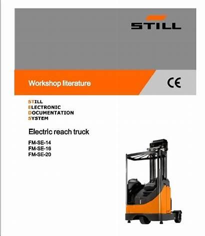 Still Manual Reach Truck Fmse Repair Workshop