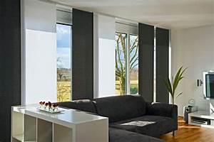 Schiebegardine quotbaliaquot von mhz bild 6 schoner wohnen for Markise balkon mit tapeten wohnzimmer modern grau