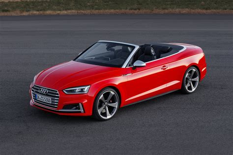 2018 Audi S5 Convertible Pricing  For Sale Edmunds