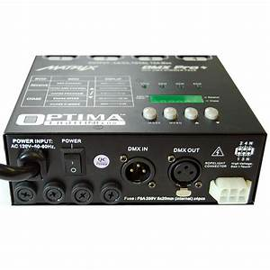 Matrix dmx pro ch double output dimmer pack system w