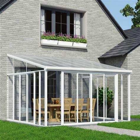 sunrooms uk palram san remo conservatory white garden street sunroom kit easyroom diy sunrooms patio