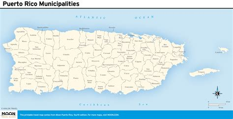 detailed map  puerto rico  travel information
