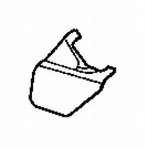 2008 Chrysler Aspen Bezel  Seat Belt Anchor   J1   Trim