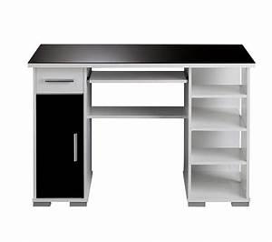 Bureau But Noir : bureau droit matrix 4 noir blanc bureaux but ~ Teatrodelosmanantiales.com Idées de Décoration