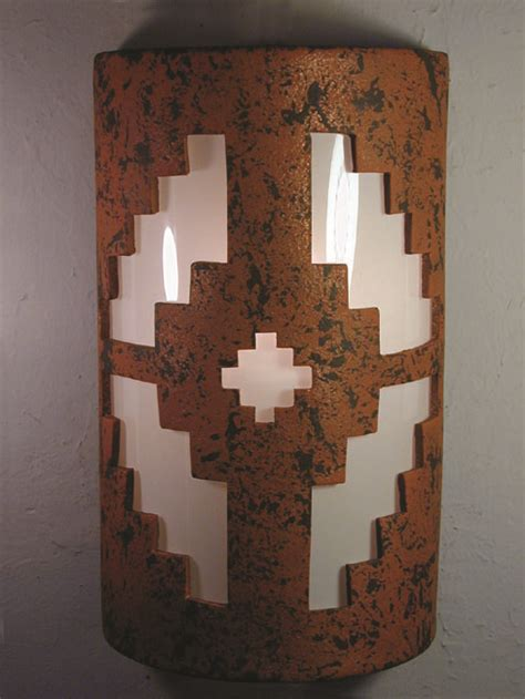southwest ceramic light fixtures and wall sconces
