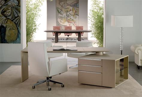 Poltrona Frau Office : C.e.o. Cube Desk By Poltrona Frau