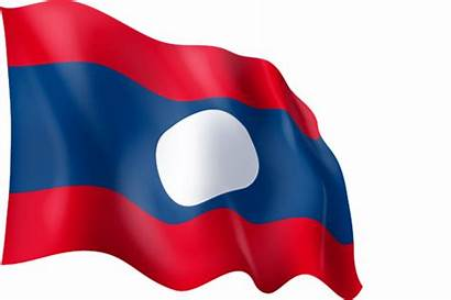 Laos Flag Graphic Ingofonts