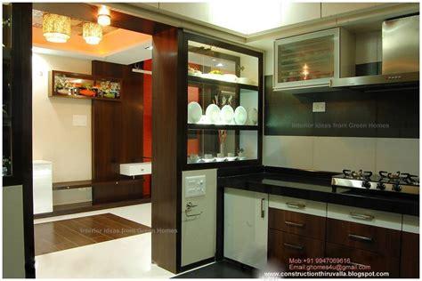 green homes modern kitchen interior design