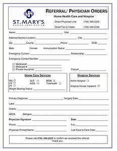 Referral Forms - St. Mary's Hospital and Health Care System