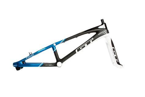 gt kit cadre et fourche speed series carbone bleu noir alltricks
