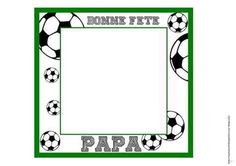 cadre fete des peres cadre football handball photo ou empreinte de le de nounoucoindespetits