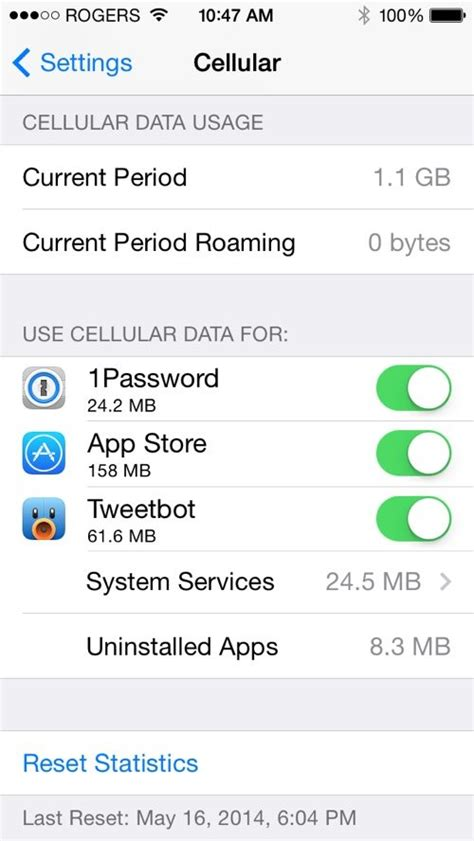iphone usage tracker track set alarms for cellular data usage on iphone