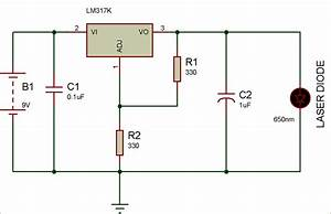 Circuit Diagram Of Laser Diode Driver Circuit