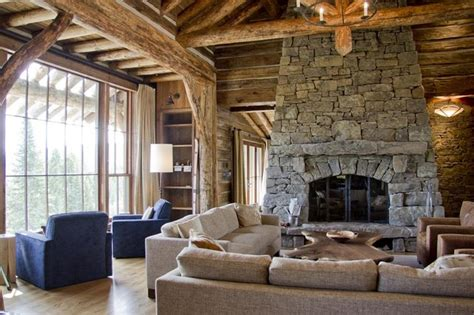Living Room With Fireplace And Doors by Custom Fireplace Door Rustic Living Room Other Metro