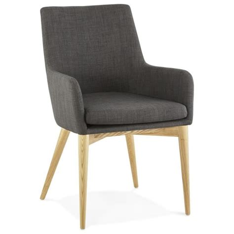 Chaise Avec Accoudoirs 'teophil' Style Scandinave Achat