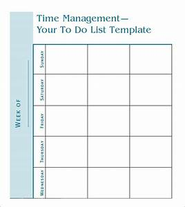 To do list template 9 free samples examples format for Time management to do list template