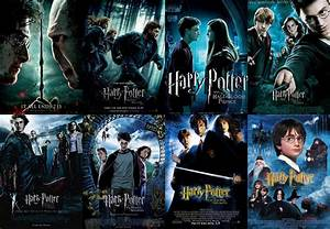 Crumble is Trouble...: Harry Potter's Movies List